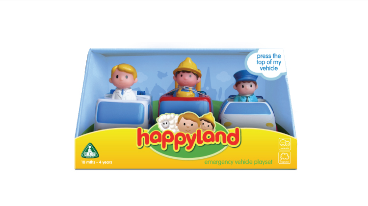elc toy packaging happyland
