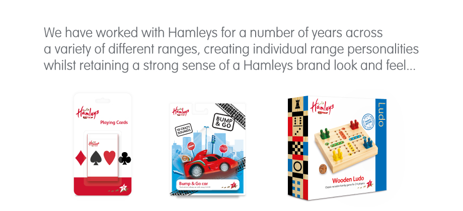 Hamleys Toy Retail Packaging-Intro