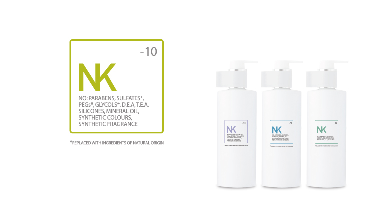 space nk beauty packaging design