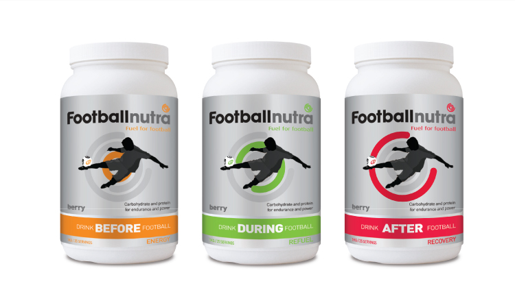 sports nutrition packaging
